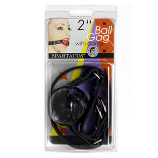 Ball Gag Black Rubber Ball
