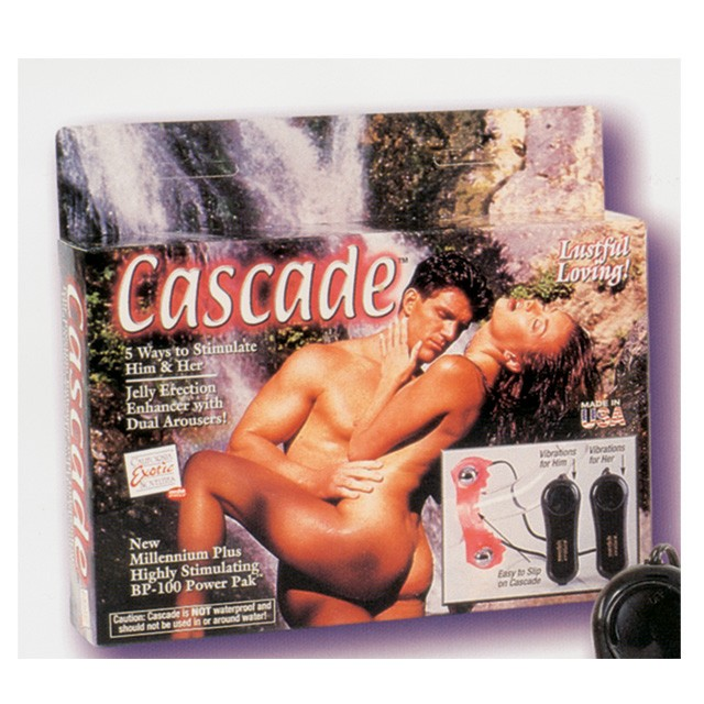 Cascade Couple's Stimulator