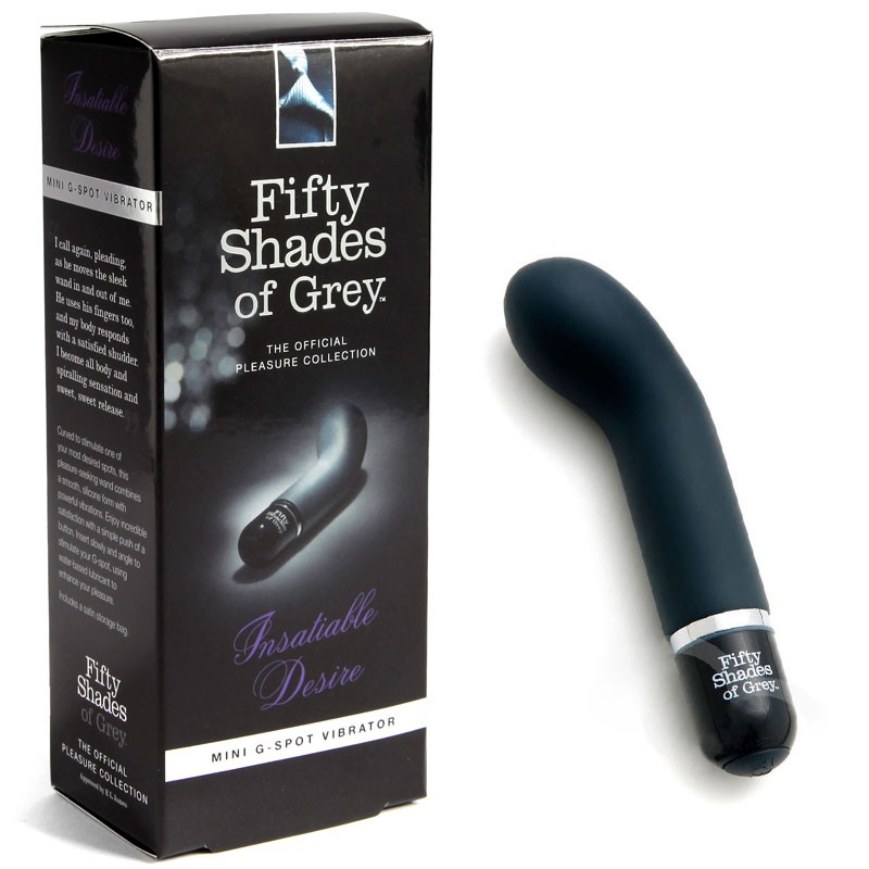 Fifty Shades G-Spot Vibrator - Insatiable Desire vibe product shot