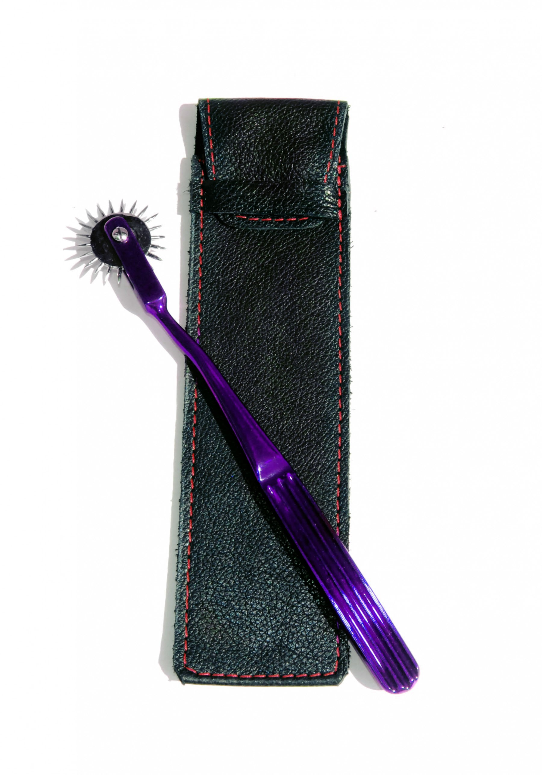 purple wartenberg pinwheel sensation play