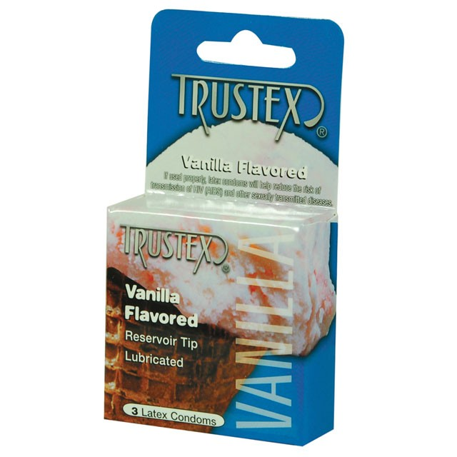 Trustex Flavored Condoms (Vanilla/3 Pack)