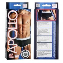 Apollo Boxer with C-Ring - Black L/XL