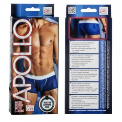 Apollo Mesh Boxer with C-Ring - Blue L/XL