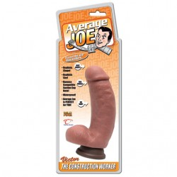 Average Joe 6in. Dong With Suction (Victor)