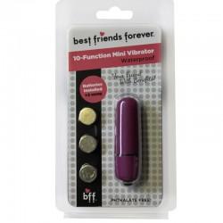 BFF Waterproof Friends w/Benefits Bullet Purple 6cm