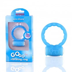 Blush GoGo Fun Cock Ring (Blue)