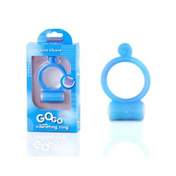 Blush GoGo Play Cock Ring (Blue)
