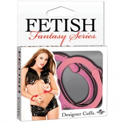 Fetish Fantasy Designer Metal Handcuffs Pink