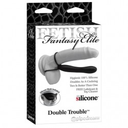 Fetish Fantasy Elite Double Trouble Black