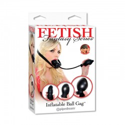 Fetish Fantasy Inflatable Ball Gag Black