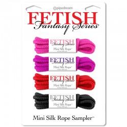 Fetish Fantasy Mini Silk Rope Sampler