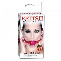 Fetish Fantasy Ruby Ball Gag