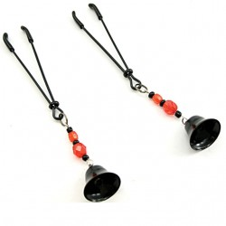 H2H Nipple Clamps Tweezer Beaded (Black)