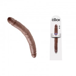 King Cock - 12in Slim Double Brown