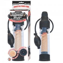 Mack Tuff Vibrating Power Pump-Clear/Black