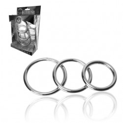 Masters Trine Steel C-Ring Collection