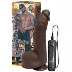 Mr. Marcus 9in. Vibrating Cock & Balls