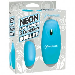 Neon Luv Touch 5 Function Bullet Blue