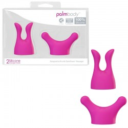 Palm Power Massager Heads Body (Set of 2)