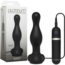 Platinum - The Delight Vibrating Plug Black