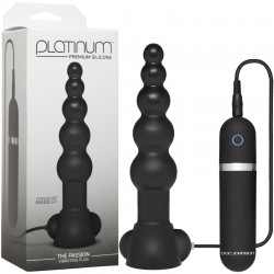 Platinum - The Passion Vibrating Plug Black