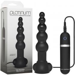 Platinum - The Passion Vibrating Plug Black