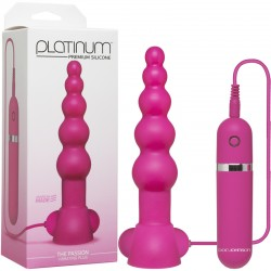 Platinum - The Passion Vibrating Plug Pink