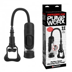 Pump Worx - Perfect Touch Vibrating Penis Pump