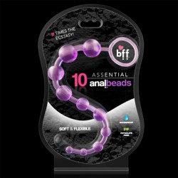 SI Assential Anal Beads 10 (Purple)