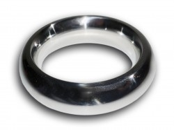 stainless steel donut cock ring - product detail image