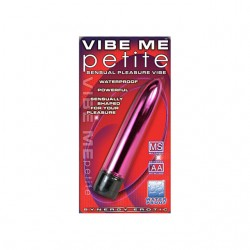 Synergy Vibe Me Petite Luster Pink Waterproof Multi Speed Mini Vibrator