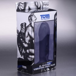 Tom of Finland Single Speed Silicone Lrg Butt Plug