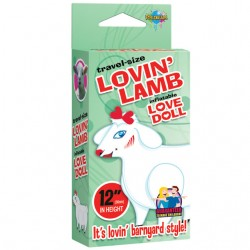 Travel Size Lovin Lamb Blow Up Doll
