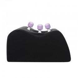 Wand Essentials Trio 3 Hole Position Seat Dildo Tickler Attachment