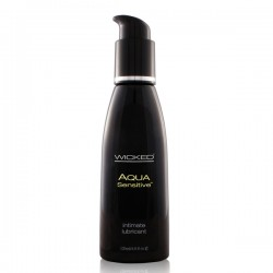 Wicked Aqua Sensitive Lubricant 4oz.