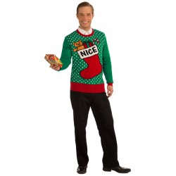 Xmas Sweater Nice Stocking XL