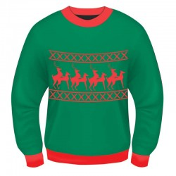 Xmas Sweater Reindeer Games L/XL