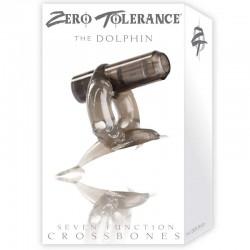 ZT Diving Dolphin - Single Bullet Smoke Cock Ring / 1 Smoke Bullet