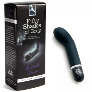"Fifty Shades G-Spot Vibrator - ""Insatiable Desire"""