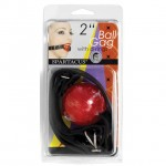Ball Gag Red Rubber Ball