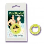 Pearl Beaded Prolong Ring - Glow-In-The-Dark