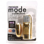 Penthouse Mode Collection eZ-1 Touch 5X Body Massager (Gold)