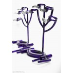 purple BDSM - Bondage Hand traps by sexandmetal.com