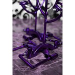 purple BDSM Hand traps by sexandmetal.com