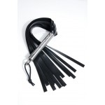 clear handle vanquisher silicone flogger