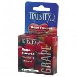 Trustex Flavored Condoms (Grape/3 Pack)