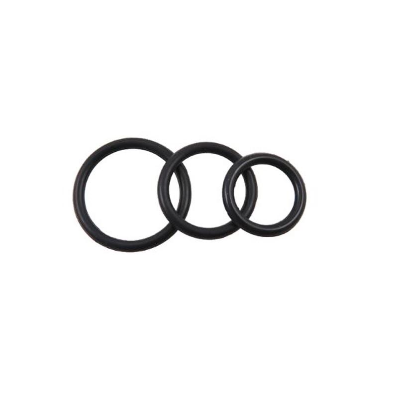 3 Ring Kit - XL - Black