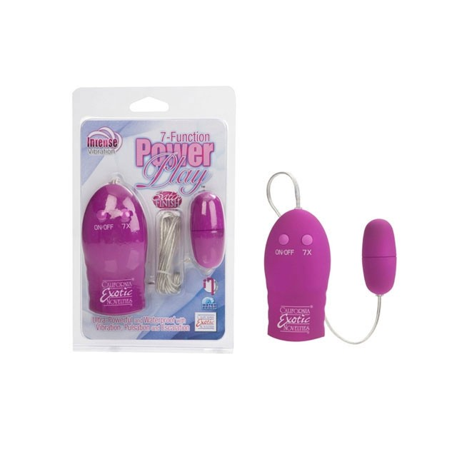 7-Function Power Play™ Bullet - Pink
