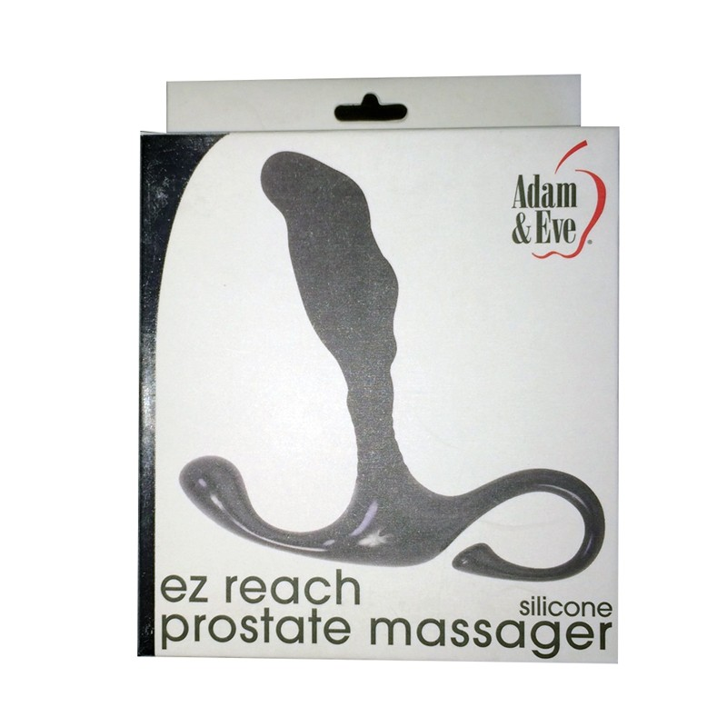 Adam & Eve EZ Reach Prostate Massager Black