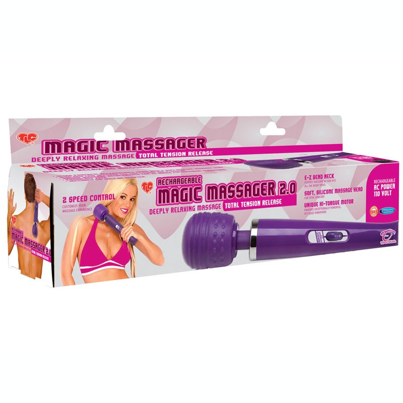 Adam & Eve Rechargeable Magic Massager 2.0 (110V)